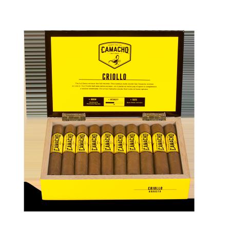 Camacho Criollo Robusto, Box of 20