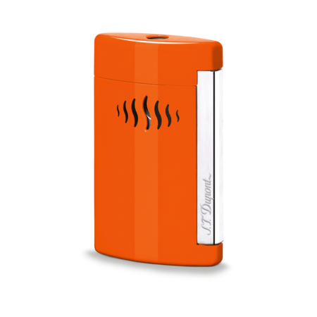 S.T. Dupont MiniJet Lighter, Coral Orange
