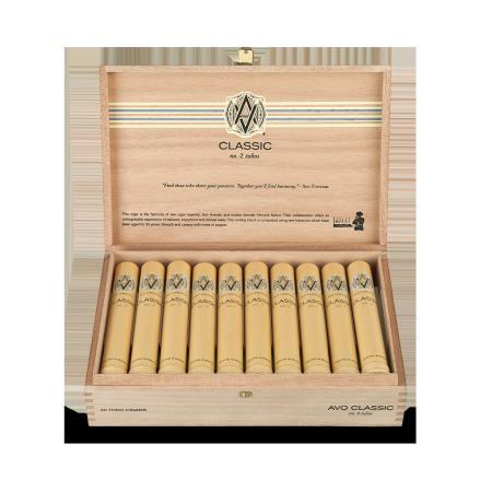 Avo Classic No. 2, Box of 20 Tubos