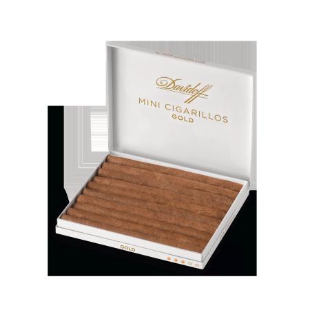 Davidoff Mini Cigarillos Gold, Pack of 10