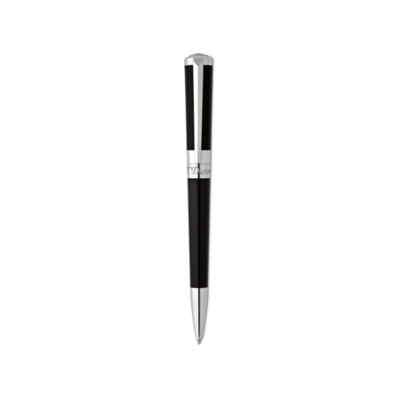 S.T. Dupont Liberte Pen Mini Ball Point, Pearly Black / Palladium