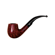 Davidoff Cognac Classic Bent Pipe, Brilliant Red