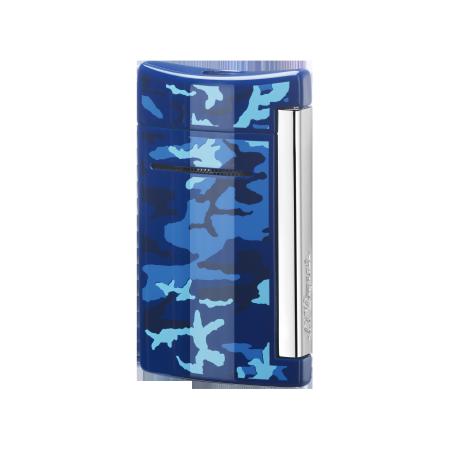 S.T. Dupont MiniJet Lighter 'Fashion', Blue Camo