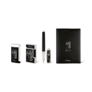 S.T. Dupont Picasso Lighters and Writing Set, Black Set / FREE 1 Cigar Case