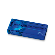 Zino Optical Glass Ashtray, Blue