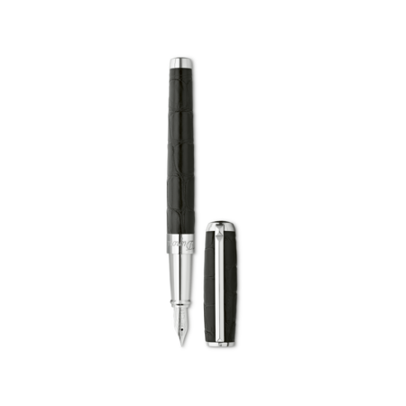 S.T. Dupont Line D Pen Black Alligator, Fountain