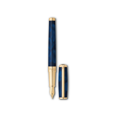 S.T. Dupont Line D Pen Atelier Blue, Fountain