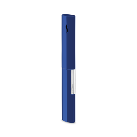 S.T. Dupont The Wand Jet Lighter, Blue / Chrome