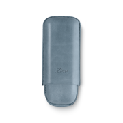 Zino Cigar Case Light Blue, 2  Cigars / R