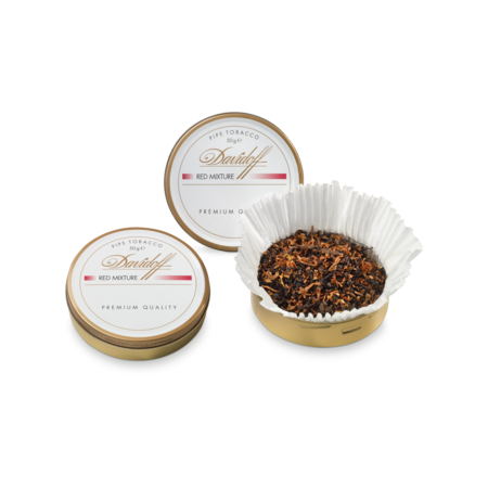 Davidoff Pipe Tobacco, Red Mixture, Tin of 50g