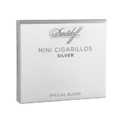 Davidoff Mini Cigarillos Silver, Pack of 10