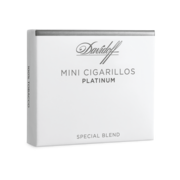 Davidoff Mini Cigarillos Platinum, Pack of 20