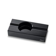 Zino Optical Glass Ashtray, Black