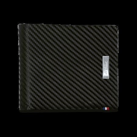 S.T. Dupont Billfold / Wallet Carbon Fiber, 6 CC Holder / Medium