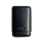 Davidoff Cigar Case Black, 3  Cigars / R
