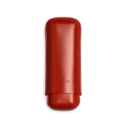 Zino Cigar Case Red, 2  Cigars / XL - Code XL2RED