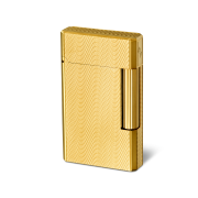Davidoff Double Flame Lighter 'Year of the Horse', Gold / Gilded Moire
