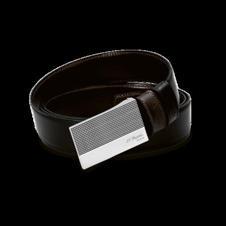 S.T. Dupont Belt Reversible Black / Brown, Diamond Head Delta Box