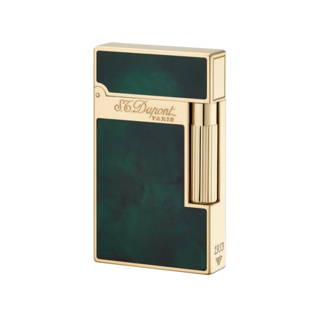S.T. Dupont Ligne 2 'Atelier Collection' Lighter, Green