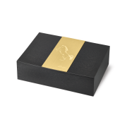 Davidoff Humidor 'Year of the Horse', Black / Gold