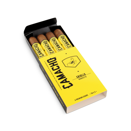 Camacho Criollo Robusto, Pack of 4