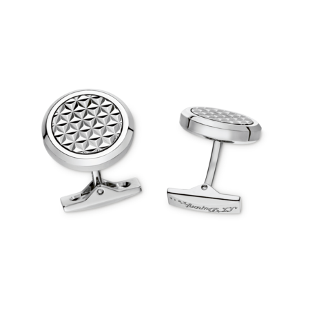 S.T. Dupont Cufflinks Fire Head Collection, Round