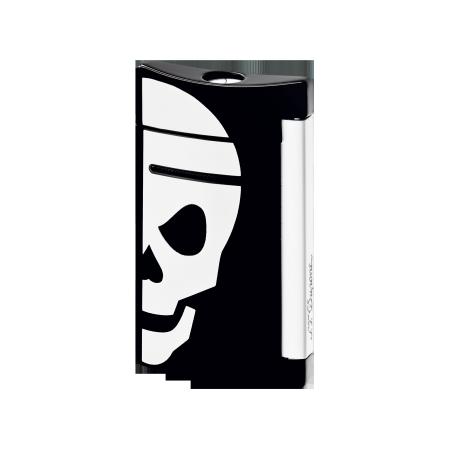 S.T. Dupont MiniJet Lighter 'Fashion', White Skull