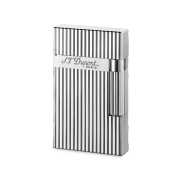S.T. Dupont Ligne 2 'Precious Metals' Lighter, Silver Montparnesse