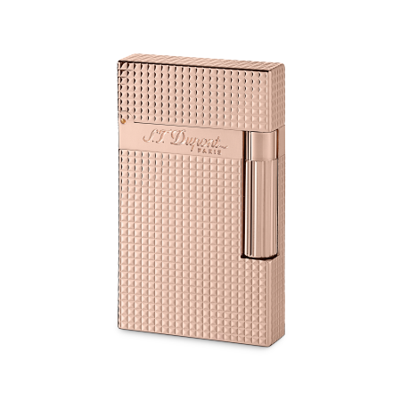 S.T. Dupont Ligne 2 'Precious Metals' Lighter, Rose Gold Diamond Head