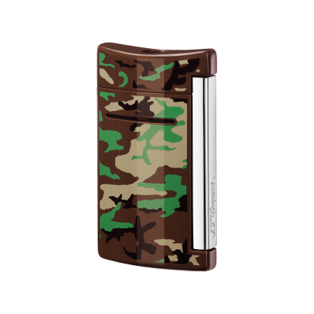S.T. Dupont MiniJet Lighter 'Fashion', Brown Camo