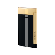 S.T. Dupont Slim 7 Lighter, Black & Gold
