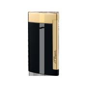 S.T. Dupont Slim 7 Lighter, Black & Gold