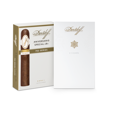 Davidoff 702 Series Special R, Holiday Gift Pack of 4