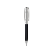 S.T. Dupont Line D Pen Vitruvian Man, Ball Point / Black & Palladium