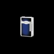 S.T. Dupont Le Grand Lighter, Blue Lacquer / Palladium