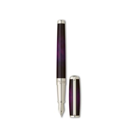 S.T. Dupont Line D Pen Atelier Purple, Fountain / Fine