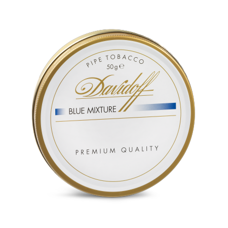 Davidoff Pipe Tobacco, Blue Mixture, Tin of 50g