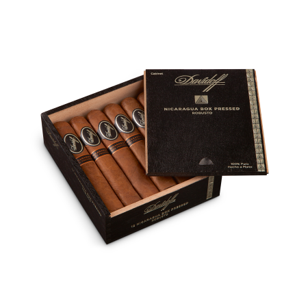 Davidoff Nicaragua Box-Pressed Robusto, Box of 12