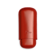 Zino Cigar Case Red, 2  Cigars / R - Code R2RED