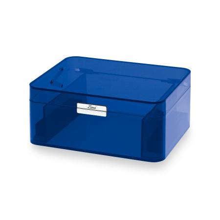 Zino Acrylic Humidor, Acrylic / Blue