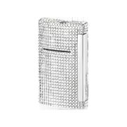 S.T. Dupont MiniJet Lighter 'Swarowski', White