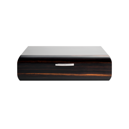 Davidoff Office Humidor, Macassar / Palladium Fittings