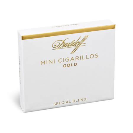 Davidoff Mini Cigarillos Gold, Pack of 20
