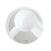 Davidoff Porcelain Ashtray, Round / 2 Cigar Holder