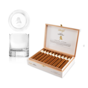 Davidoff Winston Churchill Toro Set, Box of 20 + 2 Glass Set