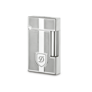 S.T. Dupont Ligne 2 'Precious Metals' Lighter, Palladium Blazon
