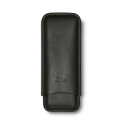 Zino Cigar Case Black, 2  Cigars / XL