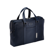 S.T. Dupont Tony Stark Line D Briefcase, Blue Leather