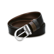 S.T. Dupont Belt Reversible Black / Brown, Classic Delta / Palladium