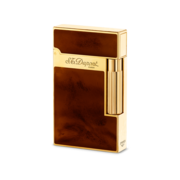 S.T. Dupont Ligne 2 'Atelier Collection' Lighter, Dark Brown